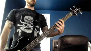 Motley Crue Piece of Your Action Bass Cover