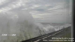 【運休】日高本線13(新冠→鵡川~left window view)