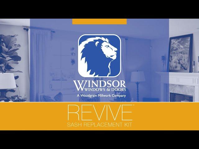 Windsor Windows and Doors: Revive Sash Replacement Kit