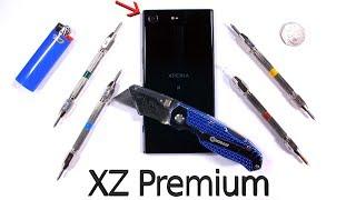 Xperia XZ Premium هو أحدث هاتف ذكي يخضع لإختبارات المتانة - إلكتروني