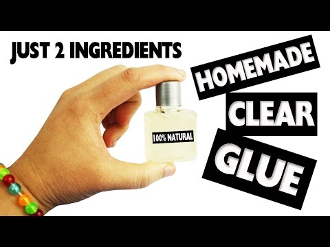 🍼DIY | How to Make Clear Glue - 2 ingredients - No Cook- Easy DIY - simplekidscrafts