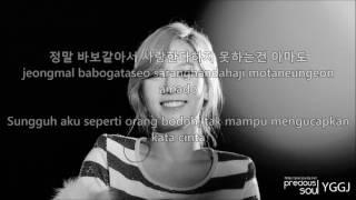 Taeyeon - If (Han/Rom/Indo) Lyrics