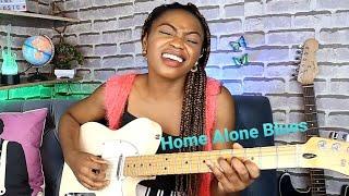 Home Alone Blues - Guitar Jam
