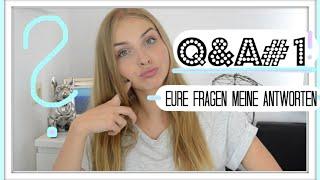 Mein BERUF, MODELN, BOYFRIEND-TAG? Q&A #1