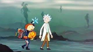 Rick and Morty - Death stranding