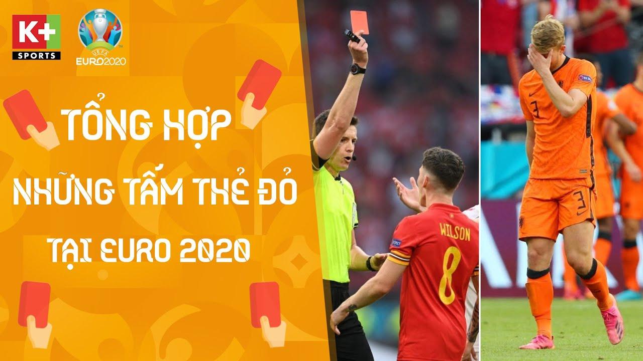 TỔNG HỢP NHỮNG TÌNH HUỐNG THẺ ĐỎ TRỰC TIẾP TẠI EURO 2020   BEST MOMENT EURO 2020