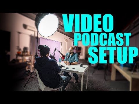 How To Film A Video Podcast - Best Audio And Camera Gear