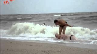 Наши пьяные на Море (ппц прикол)