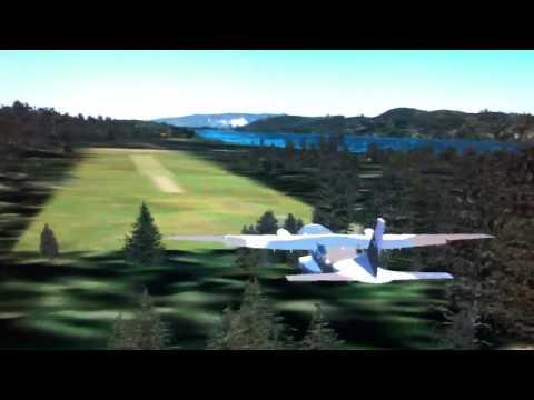 FSX Casa CN-235 grass landing