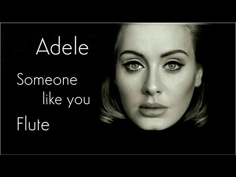 Adele  Someone Like You  Flute
