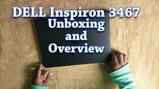 Dell Inspiron Core i3 6th Gen - 4 GB 1 TB HDD Linux 3467 Laptop Unboxing amp Overview