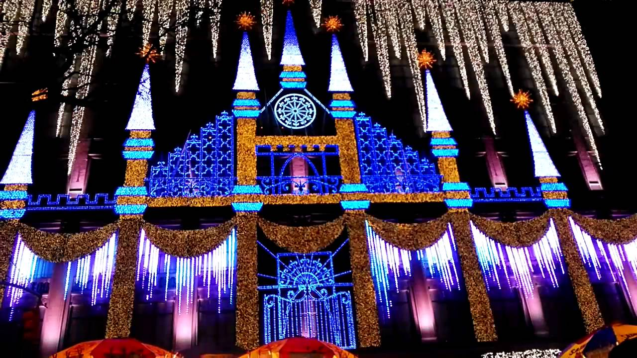 macys holiday light show nyc