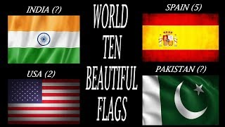 Top Ten Most Beautiful Flags In The World (In 2019)