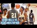 """GUARD ME 1V1"" Will Pluma VS Josh Christopher GETS HEATED! Big O DOMINATES! Chino Hills vs Mayfair"