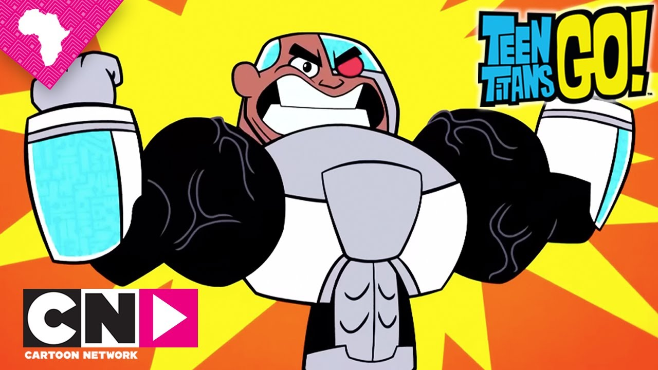 Leg Day  Teen Titans Go  Cartoon Network - Youtube-5978