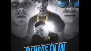 Nicky Jam Ft. Xavi The Destroyer - Piensas en Mi (Oficial)