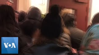 Macron Rushed From Theater During Protest