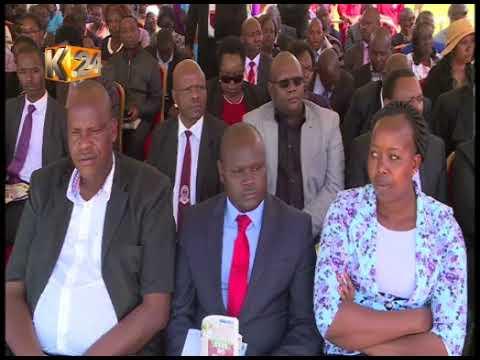 Pres.Kenyatta, DP Ruto urge Kenyans to emulate Bishop Korir by embracing peace