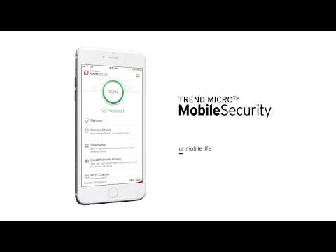 Antivirus Software Overview - Trend Micro Mobile Security for iOS