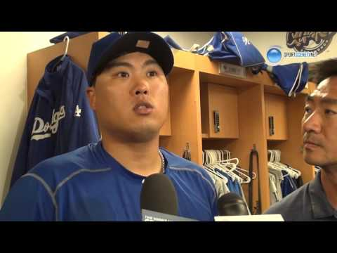 Hyun Jin Ryu Post Game Interview