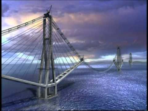 Puente sobre el estrecho de gibraltar