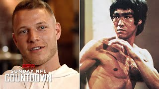 Christian McCaffrey finds inspiration in Bruce Lee | NFL Countdown