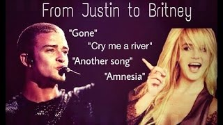 From Justin to Britney
