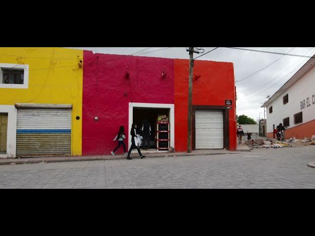 Rehabilitan la calle más emblemática del Municipio de Venado