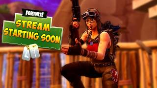 FREE Stream Starting Soon Template (Fortnite Renegade Raider Skin Edition)
