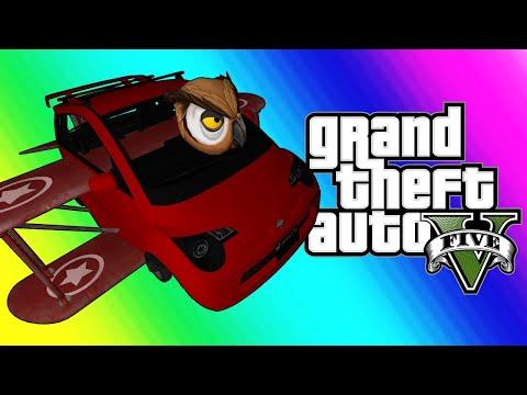 GTA5 Online Funny Moments - Vehicle Transform Gauntlet!