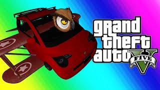 gta5 online funny moments vehicle transform gauntlet