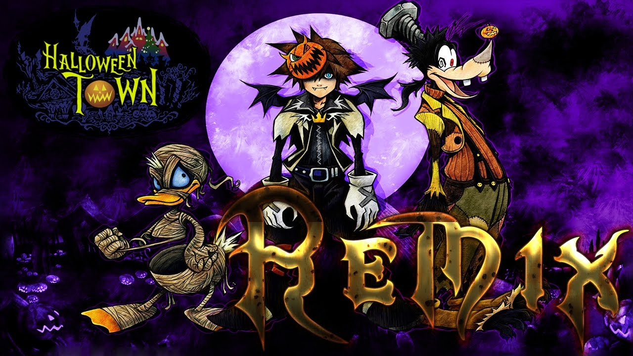 Kingdom Hearts Song Remixes - Halloween Town (\