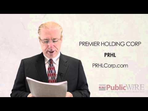 Premier Holding Corp