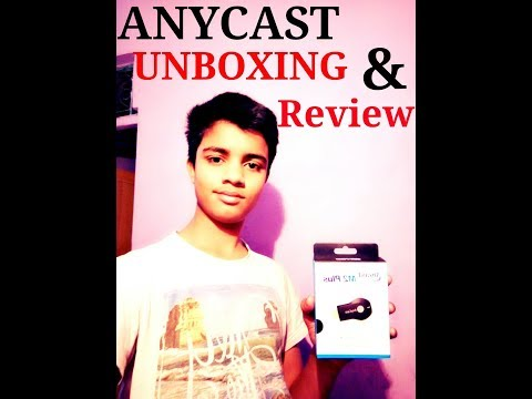 Anycast M2 PLUS Review, IN HINDI ,,WIFI DISPLAY RECEIVER