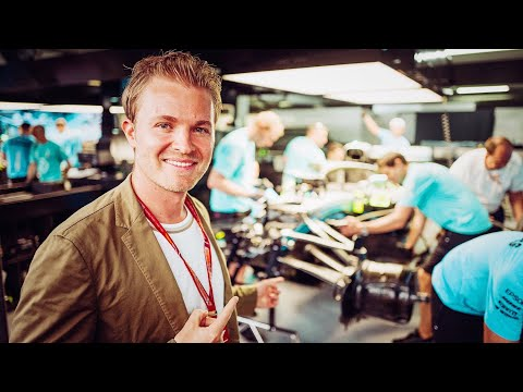 NEVER WRITE OFF LEWIS, EVER!!!! (GERMAN F1 GP VETTEL CRASH) | NICO ROSBERG | RACEVLOG