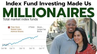 How We Became Millionaires with Index Funds | Vanguard, Schwab, & Fidelity