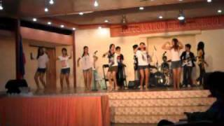 REMORIN mobile sound @WELCOME PARTY division meet 2011 w/ T.N.H.S. band