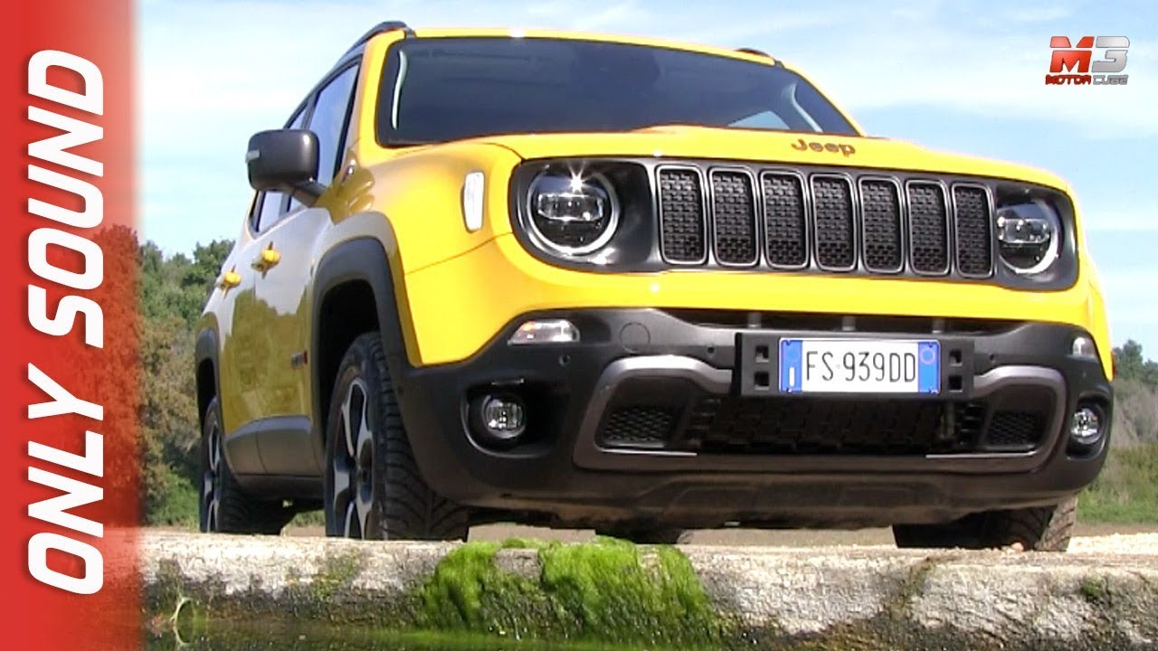 New Jeep Renegade Trailhawk 2019 First Off Road Test Drive Only