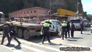 Kdz Ereğli trafik kazası  5 mayıs 2016