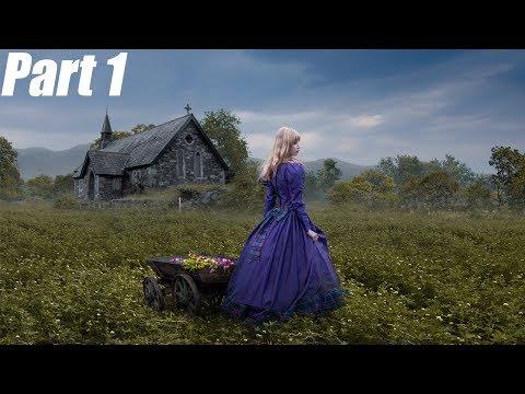 Photoshop Natural Fantasy Photo Manipulation Tutorial | Flower Girl Part1