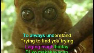 BUT IF YOU LEAVE ME BY JUNIOR ENGLISH TAGALOG KARAOKE FEAT TARSIER MORPHING ANIMATION