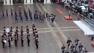 Sfilamento Picchetto alla Bandiera Giuramento 195 Impeto Accademia Militare di Modena
