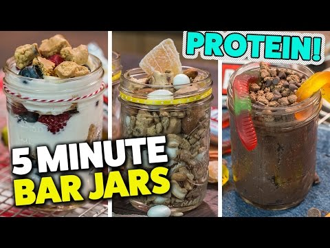 how-to-make-5-minute-protein-bar-jars!