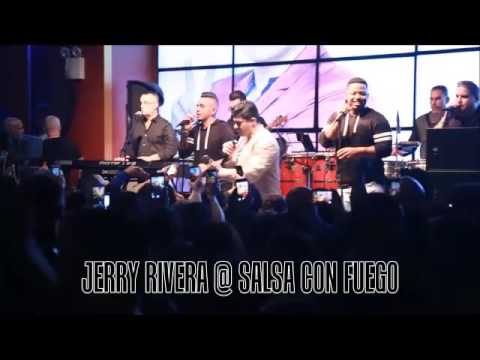 Jerry Rivera Performing Live @ Salsa Con Fuego