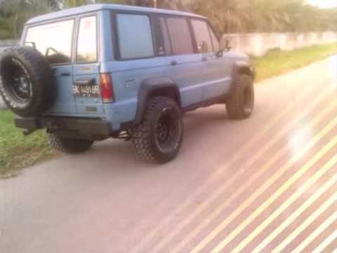 Isuzu Trooper Th 89 Diesel Swap 4jb1 Joss Tinggal Pake Youtube