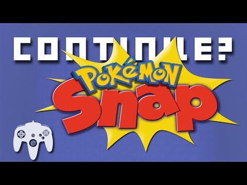 Pokemon Snap (N64) - Continue?
