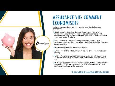 3 Soumissions d'assurance vie d'assureurs & courtiers d'assurance à Québec