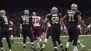 Sounds of the Game: Redskins vs. Saints