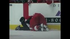 Claude Lemieux hit on Kris Draper (1996 Playoffs - CBC Feed)