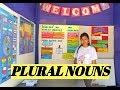 Leccion 14:PLURAL NOUNS(regular and irregular)/Sustantivos Plurales/Ejemplos